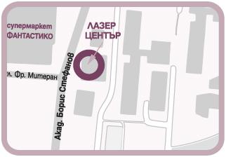 карта Студентски град лазерна епилация
